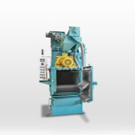 100 KG RUBBER BELT TUMBLAST CLEANING MACHINE