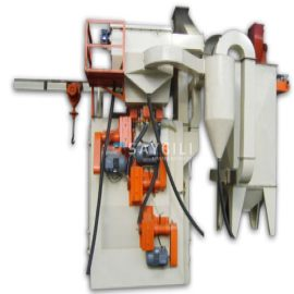 3 TURBINE HANGER TYPE BLAST CLEANING MACHINE