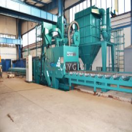 TUNNEL SHEET AND PROFILE BLAST CLEANING MACHINE